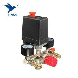 125psi 1 Tlakový spínač kompresora prívodného vzduchu s regulátorom