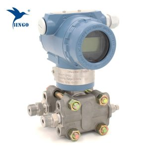 Snímač diferenčného tlaku pre kvapalinu s plynom