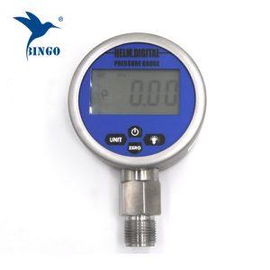 Inteligentný vákuový digitálny tlakomer, LCD, LED displej, rozmer 100 MPa