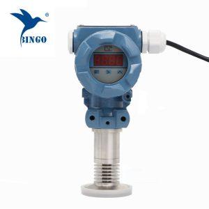 Sanitárne preplachovacie membránové tlakové vysielače s LED displejom
