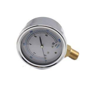 mikroprocesorový diferenčný tlakomer