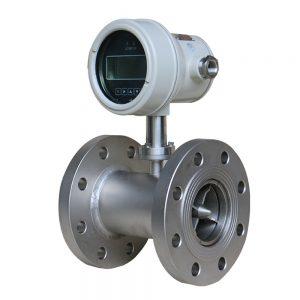 turbínový prietokomer obežného kolesa